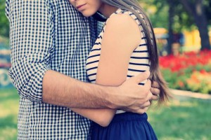 couple hugging-How to Become a Better Man After Your Girlfriend Cheated on You