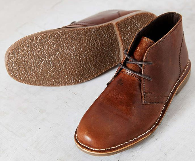 Hawking McGill Leather Desert Boots