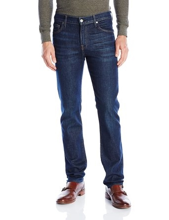 'Slimmy' Slim Fit Jeans (Atlantic View) (7 For All Mankind)