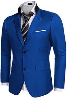Cloud Style Men's Casual Dress Suit Slim Fit Stylish Blazer Coats Jackets