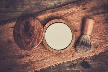 Shaving brush and soap