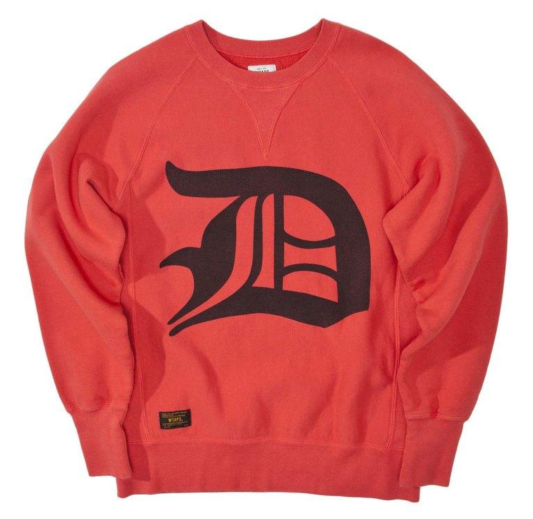 Design Crew Neck Sweatshirt