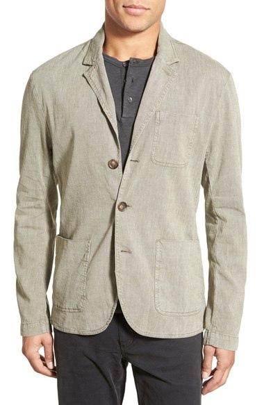James Perse (Cotton Blend Blazer)