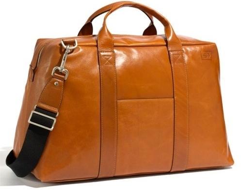 Leather Weekend Bag- Jack Spade