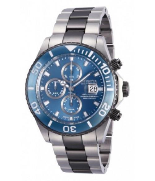 Men's Invicta 12184 Reserve Pro Diver Swiss Valjoux 7750 Chronograph Stainles