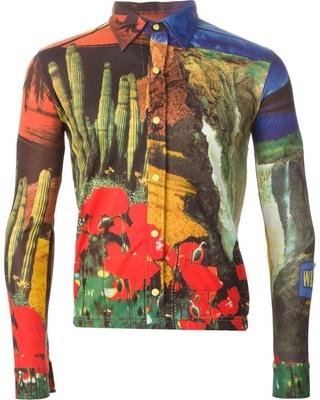 Nature Motif Shirt-Walter Van Beirendonck