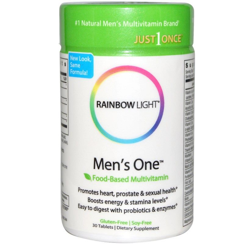 Rainbow Light, Men's One Multivitamin