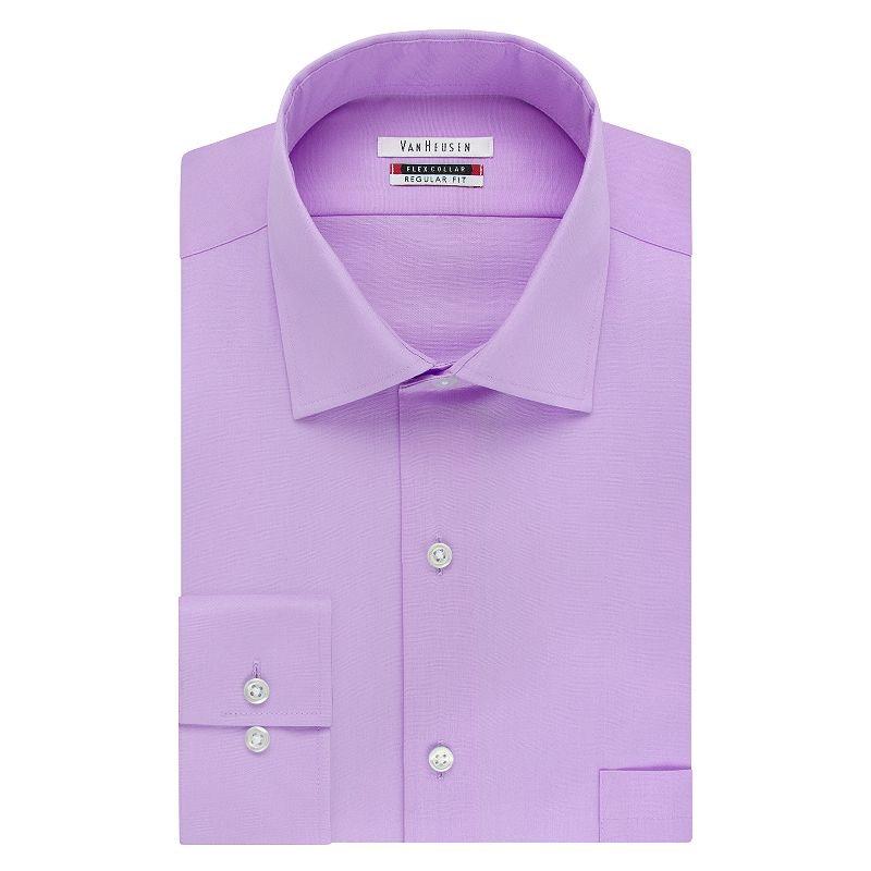 12 best mens dress shirts that will make you shine for Van heusen shirts flex collar