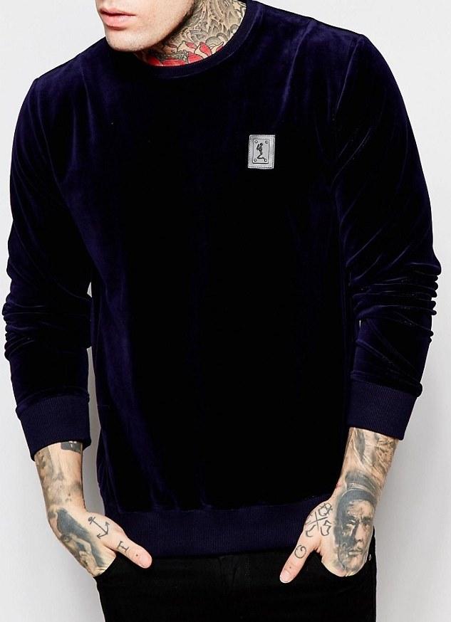 Velour Sweatshirt-Religion