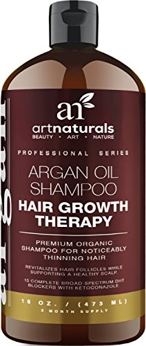 Art Naturals Organic Argan Oil Hair Loss Prevention Shampoo