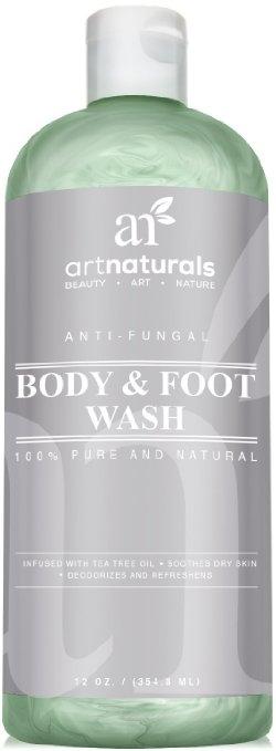 Artnaturals Antifungal Soap with Tea Tree Oil