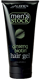 Aubrey Organics Mens Stock Ginseng Biotin Hair Gel