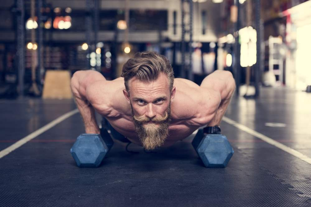 building powerful muscles