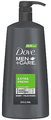 Dove Men+Care Body Wash with Pump, Extra Fresh