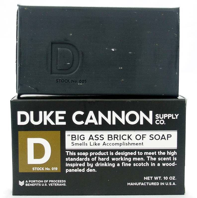 Duke Cannon Men's Soap Brick