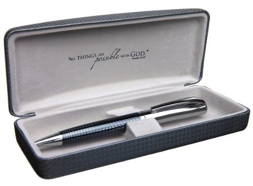 Fine Chrome Silver Embossed Writing Pen Cross