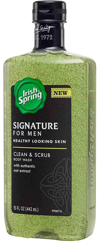 Irish Spring Signature Body Wash, Clean and Scrub,