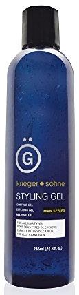 Krieger + Söhne Premium Styling Hair Gel for Men