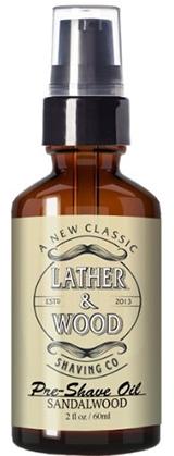 Lather & Wood Shaving Co. Pre-Shave Oil (Sandalwood)