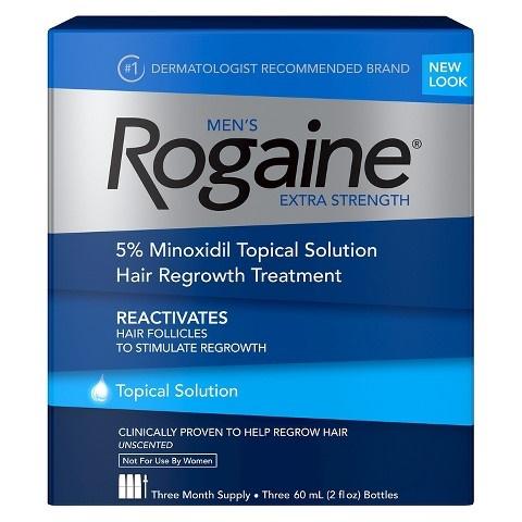 Men's Rogaine Solution Three Month Supply