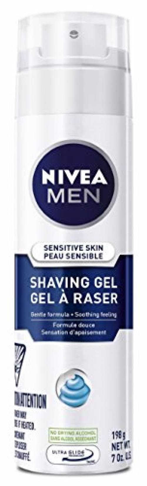 NIVEA MEN Sensitive Shaving Gel with Skin Guard