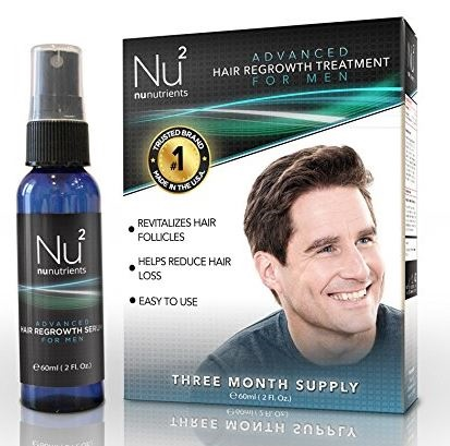 NuNutrients Advanced Hair Regrowth Treatment for Men