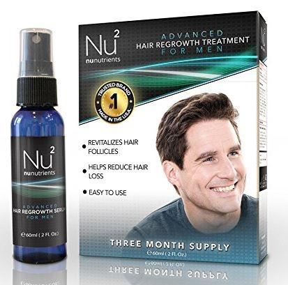 NuNutrients Advanced Hair Regrowth Treatment for Men