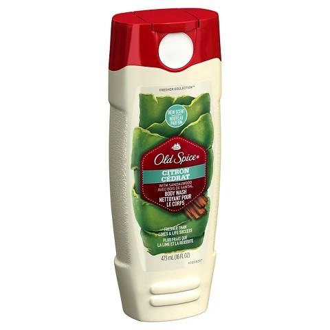 Old Spice Fresher Collection Fiji Scent Men's Body Wash