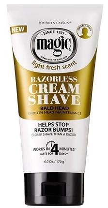 Softsheen Carson Magic Razorless Smooth Shave Cream for Men
