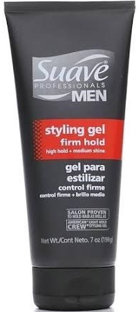 Suave Professionals Men's Styling Gel, Firm Hold