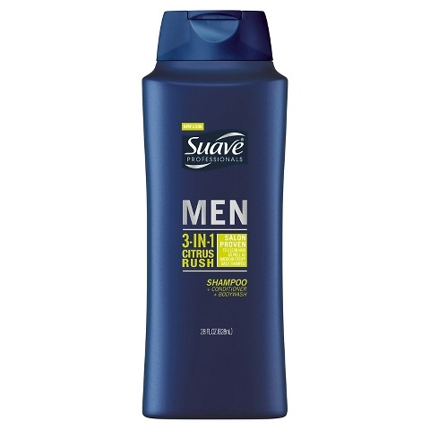 Suave Professionals Men 3-in-1