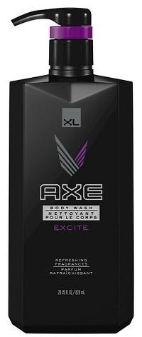 XE Body Wash, Excite 28 oz Pump