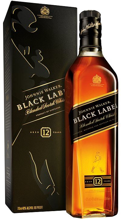 Black Label 12 years old