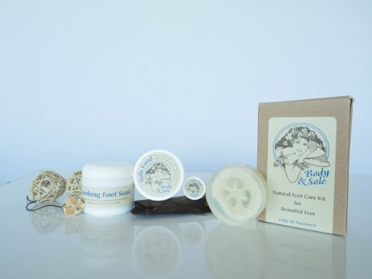 Body & Sole Foot Care Kit For Healthy Feet