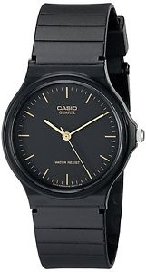 Casio Men's MMQ24-1E Black Resin Watch