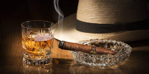 whiskey cigars
