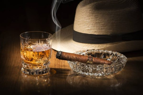 whiskey cigars